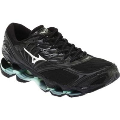 ミズノ レディース スニーカー シューズ Wave Prophecy 8 Running Shoe (Women's) Black/Silver