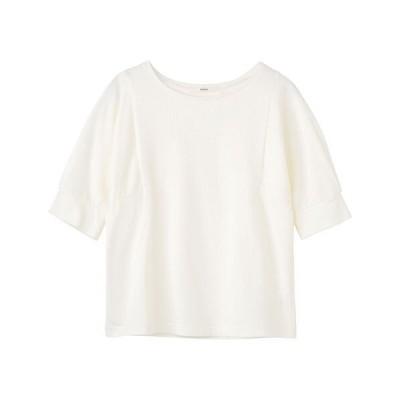 tシャツ Tシャツ ミニ裏毛 5部袖PO
