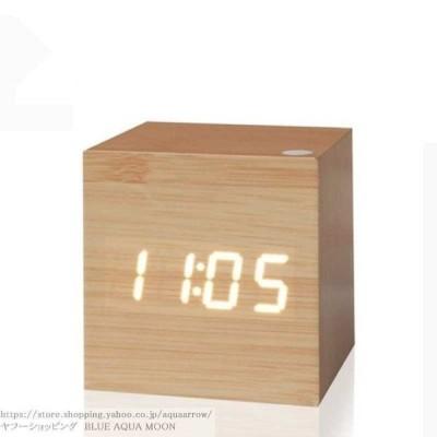 置時計 おしゃれ 北欧 置き時計 おしゃれ 北欧 木製 デジタル