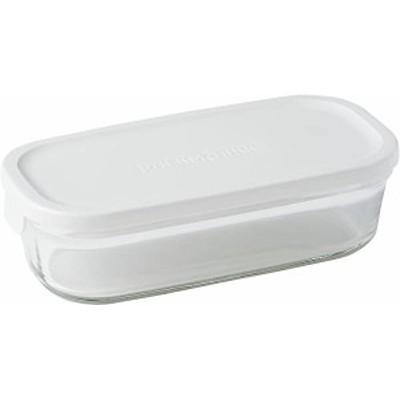 送料無料 イワキ 保存容器 パック&レンジ 浅型 ハーフ 500ml ホワイト 冷凍 オーブン レンジ 可能 ...