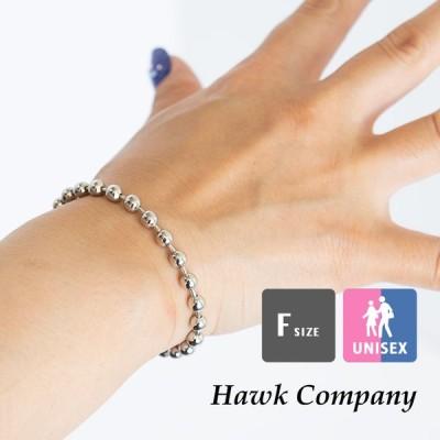 【 hawk company ホークカンパニー 】 ボール チェーン ブレスレット 6174 /21SS