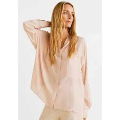 Mango レディースシャツ Mango ISSIS - Button-down blouse - nude nude
