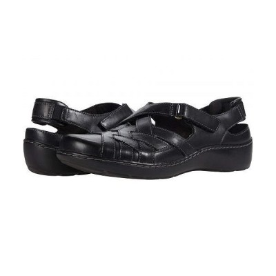 Clarks クラークス レディース 女性用 シューズ 靴 サンダル Cora Dream - Black Leather