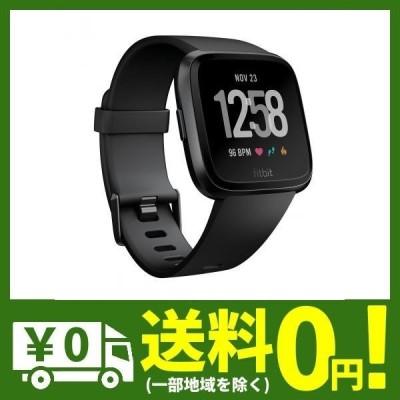 Fitbit Versa スマートウォッチ Black L/Sサイズ FB505GMBK-CJK