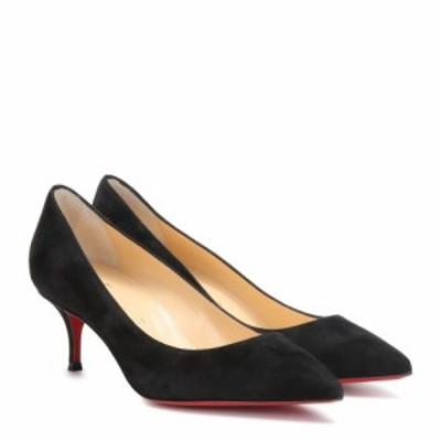 クリスチャン ルブタン Christian Louboutin レディース パンプス シューズ・靴 Kate 55 suede pumps Black