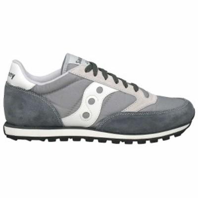 サッカニー Saucony メンズ シューズ・靴 Jazz Low Pro Shoe Grey/White