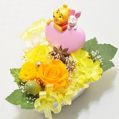 プリザーブドフラワー ディズニー アレンジメント 花 プレゼント 誕生日 記念日 贈り物