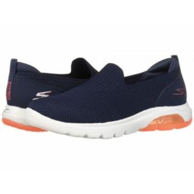SKECHERS Performance スケッチャーズ レディース 女性用 シューズ 靴 スニーカー 運動靴 Go Walk Air 16099 Navy/Coral【送料無料】