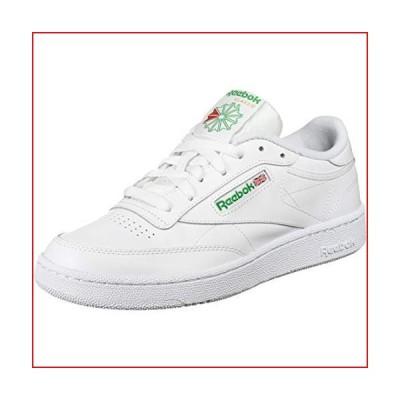 Reebok Men's Club C 85 Walking Shoe, White/Green, 12【並行輸入品】