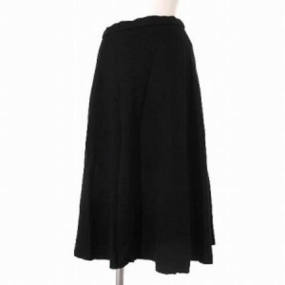 【中古】グリーンレーベルリラクシング アローズ green label relaxing monable スカート イージー 黒 36 レディース