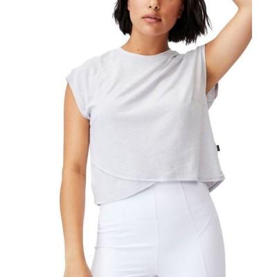コットンオン レディース シャツ トップス Women's Lifestyle Cross Hem T-Shirt