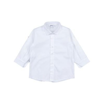 ALETTA シャツ ホワイト 3 コットン 97% / ポリウレタン 3% シャツ
