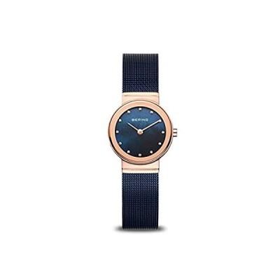 ベーリング タイム 10126-367 レディース クラシックコレクション 腕時計 メッシュベルト 傷つきにくいサファイアガラス デンマークで設計。