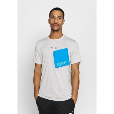 プーマ シャツ メンズ トップス TRAIN FIRST MILE XTREME TEE - Sports shirt - gray violet