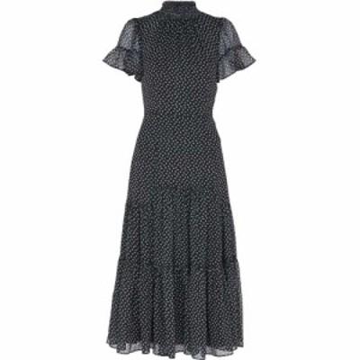 ホイッスルズ Whistles レディース ワンピース ワンピース・ドレス almond blossom misha dress Black/Multi