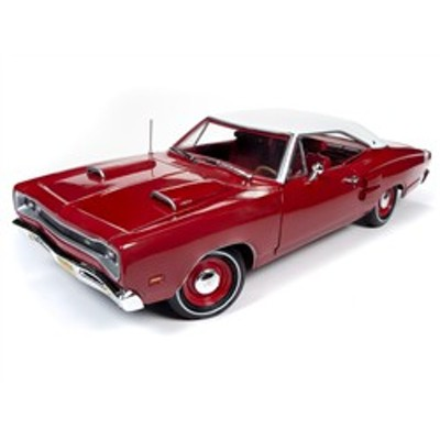 Autoworld オートワールド 1/18 ミニカー ダイキャストモデル 1969年モデル ダッジ Super Bee Color Code R6 レッド  1969 Dodge Super B