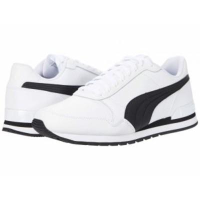 PUMA プーマ メンズ 男性用 シューズ 靴 スニーカー 運動靴 St Runner V2 Full L Puma White/Puma Black【送料無料】