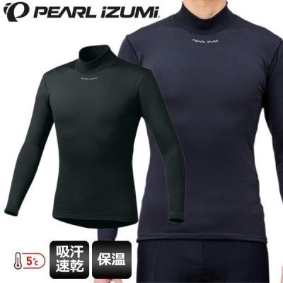 PEARL IZUMI パールイズミ インナーシャツ サーマフリースドライ アンダー 198 ブラック メンズ サイクルウェア