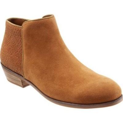 ソフトウォーク SoftWalk レディース ブーツ シューズ・靴 Rocklin Boot Brandy/Leather