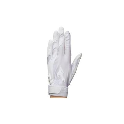 【MIZUNO】ミズノ ジュニア守備手袋【片手用】 ホワイト 1EJEY10210/1EJEY10310
