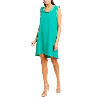 トリーナターク ワンピース トップス レディース Trina Turk Double Rainbow Shift Dress jade