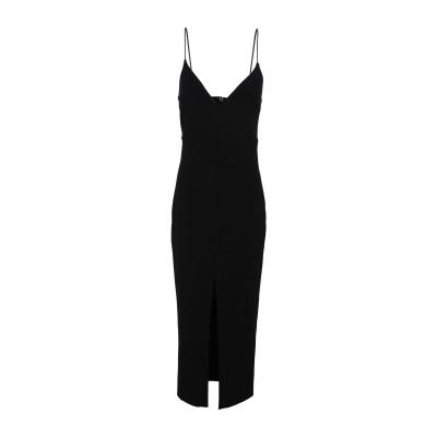 BEC & BRIDGE 7分丈ワンピース・ドレス ブラック 6 ポリエステル 95% / ポリウレタン 5% 7分丈ワンピース・ドレス