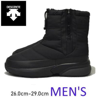 【送料無料】DESCANTE ショートブーツ メンズ ユニセックス シューズ ACTIVE WINTER BOOTS MENS アウトドア キャンプ 防水 タウン ウォーキング BLACK ブラック
