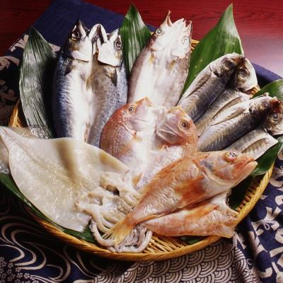 【夕ごはん・お弁当ストック】 海鮮一夜干 6種セット(博多ひもの工房)