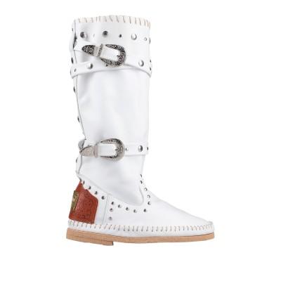 DIVINE FOLLIE ブーツ ホワイト 37 革 ブーツ