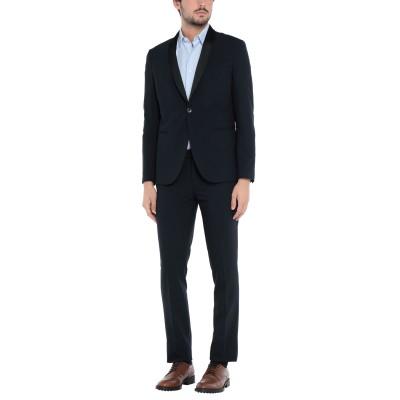 FUTURO スーツ ダークブルー 48 ポリエステル 70% / レーヨン 24% / ポリウレタン 6% スーツ