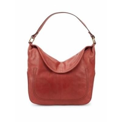 フライ レディース ショルダー バッグ Campus Rivet Leather Hobo Bag
