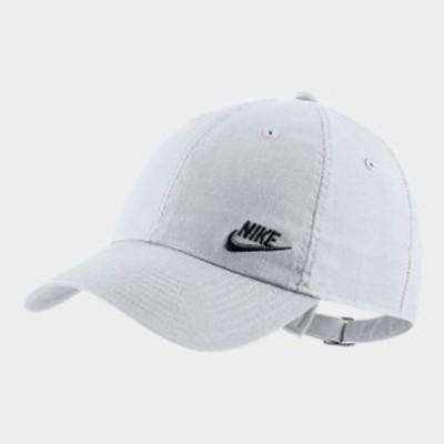 ナイキ メンズ キャップ Nike Sportswear Heritage86 Adjustable Back Hat 帽子 White/Black