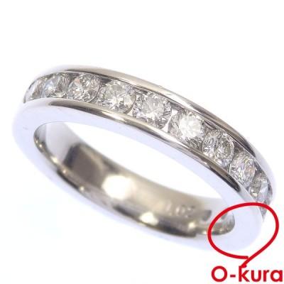 ダイヤモンド リング レディース Pt900 10号 1.02ct 8.6g プラチナ 指輪 中古