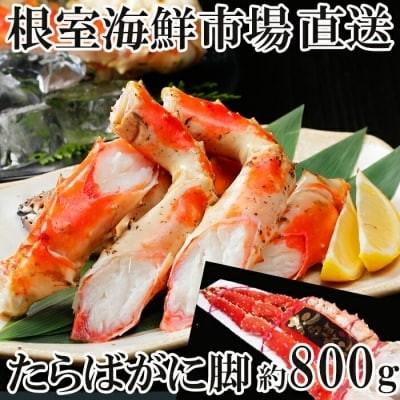 根室海鮮市場たらばがに脚1肩(約800g) B-28031