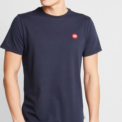メンズ ファッション TIMMI - Basic T-shirt - navy