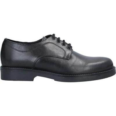 リチャード ラース RICHARD LARS メンズ シューズ・靴 laced shoes Black