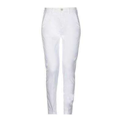 BARBA Napoli パンツ ホワイト 27 コットン 98% / ポリウレタン 2% パンツ