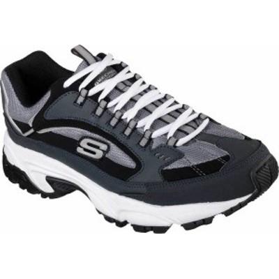 スケッチャーズ メンズ スニーカー シューズ Men's Skechers Stamina Cutback Training Shoe Navy/Black