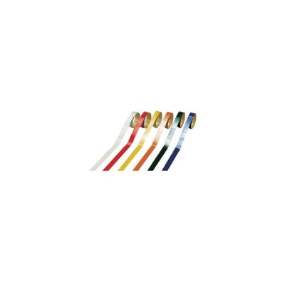 ヘルメット用ライン HL-D(小)10mm幅×700mm 反射黄赤 10本1組 日本緑十字社 235304