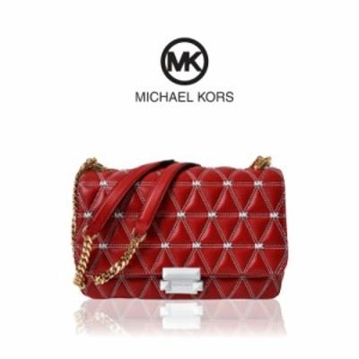 【在庫限り特別価格!】MICHAEL KORS マイケルコース Sloan Large Quilted Leather Shoulder Bag チェーン ショルダー バッグ レディース