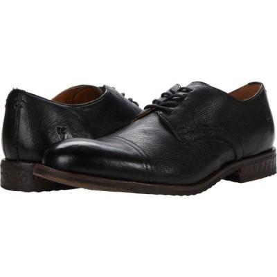 フライ Frye メンズ 革靴・ビジネスシューズ シューズ・靴 Grant Oxford Black Waxed Veg Buffalo