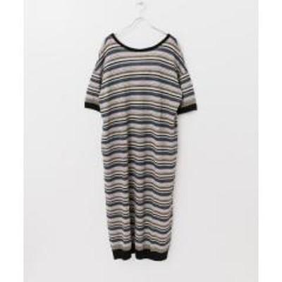 アーバンリサーチ5%OFFクーポン対象商品 R JUBILEE Linen Striped Dress【お取り寄せ商品】 クーポンコード:V6DZHN5
