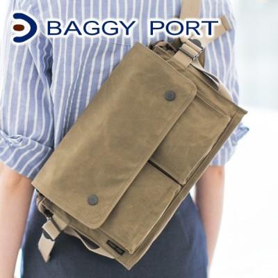 BAGGY PORT バギーポート ロウビキパラフィン ボディーバッグ ACR-477