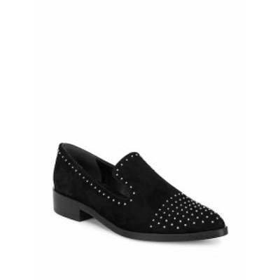 シガーソンモリソン レディース フラットシューズ Edna Leather Stud Loafers