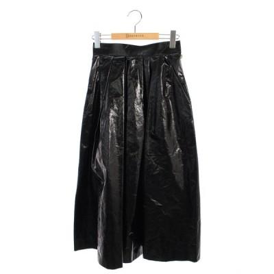 アキラナカ スカート 18SS フェイクレザー 1