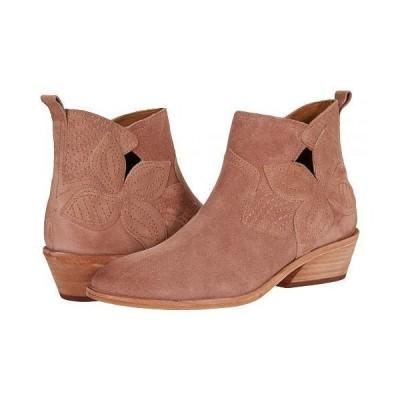 Frye フライ レディース 女性用 シューズ 靴 ブーツ アンクル ショートブーツ Farrah Floral Bootie - Light Rose Oiled Suede