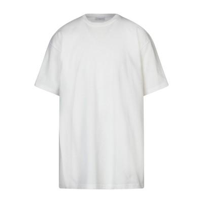 IH NOM UH NIT T シャツ ホワイト S コットン 100% T シャツ