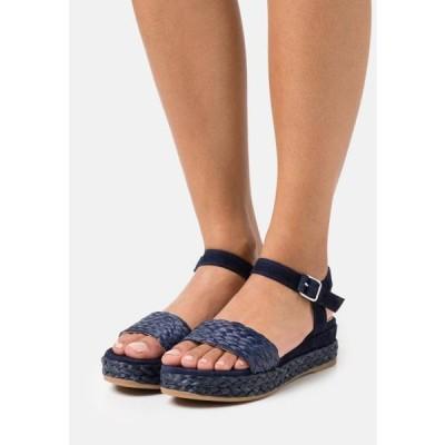 ウニサ レディース 靴 シューズ GABIR - Platform sandals - ocean