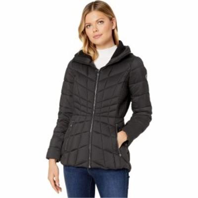 ベルナルド ファッションズ Bernardo Fashions レディース ダウン・中綿ジャケット アウター EcoPlume Packable Puffer Jacket Black