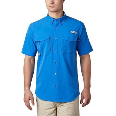 (取寄)コロンビア メンズ パーミット ウーブン ショートスリーブ シャツ Columbia Men's Permit Woven SS Shirt Vivid Blue 送料無料